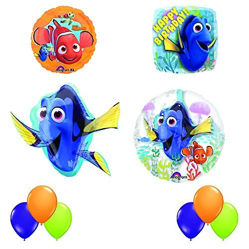 Finding Dory Ultimate INSIDER 10 pc Birthday Party Balloon Decorating Kit