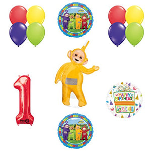 Teletubbies 1st birthday LAA-LAA Balloon Birthday Party supplies and Decorations