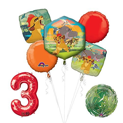 Lion Guard Lion King 3rd Birthday Party Balloon Decoration supplies