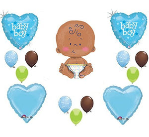 "IT'S A BOY 24"" CELEBRATE BABY SHOWER Balloons Decorations Supplies"