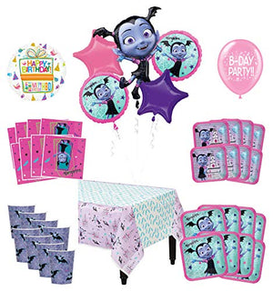 Mayflower Products Vampirina Birthday Party Supplies 8 Guest Decoration Kit and Balloon Bouquet