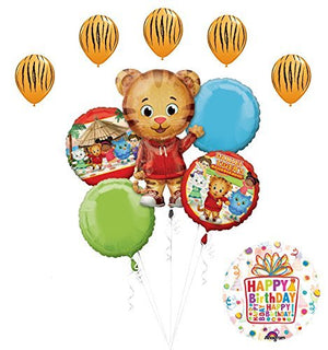 The Ultimate Daniel Tiger Neighborhood Birthday Party Supplies and Balloon Decorations