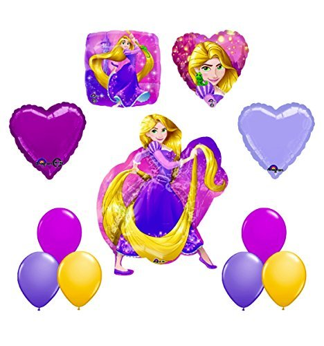 NEW! Disney Princess Rapunzel Tangled PARTY Balloon decorations supplies