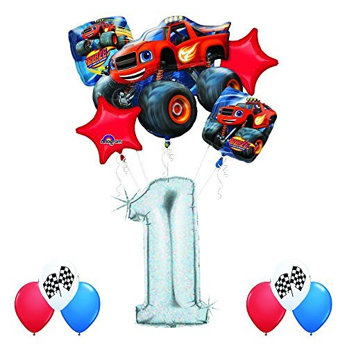 Blaze and the Monster Machines 1st Birthday Balloon Decoration Kit