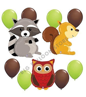 Woodland Critters 11pc Party Decoration Kit by Betallic