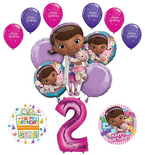 Doc McStuffins 2nd Birthday Party Supplies