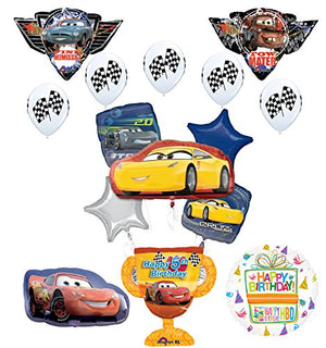 Disney Cars 5th Birthday Party Supplies Champion Trophy
