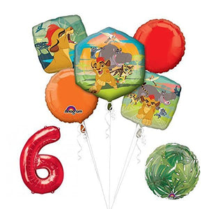 Lion Guard Lion King 6th Birthday Party Balloon Decoration supplies