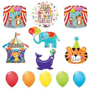 The ULTIMATE Circus Animal Birthday Party Supplies Decoration Balloon Kit