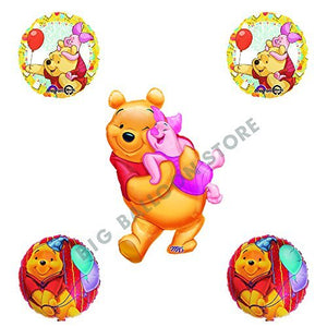Winnie The Pooh and Piglet Party Balloon Bouquet