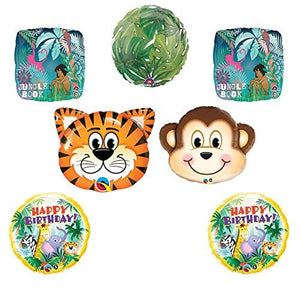 The Jungle Book Tiger Monkey Birthday balloon decoration supplies