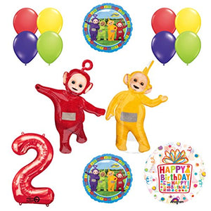 Teletubbies 2nd birthday LAA-LAA & PO Balloon Birthday Party supplies and Decorations