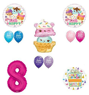 Num Noms 8th Birthday Party Supplies and Balloon Decorations