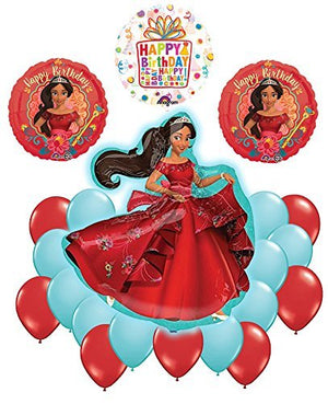 Elena Of Avalor 21 pc Happy Birthday Party Balloon Supplies Decoration Kit