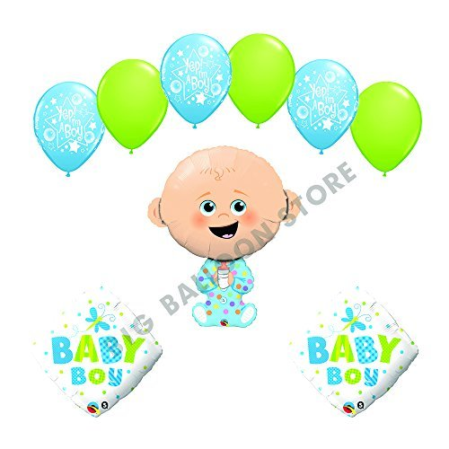 It's a Boy Yep I'm a Boy baby shower supplies decoration balloon kit