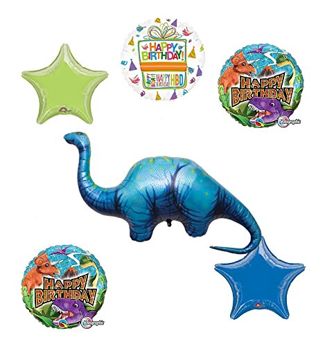 Dinosaur Birthday Party Supplies Apatosaurus Balloon Bouquet Decorations