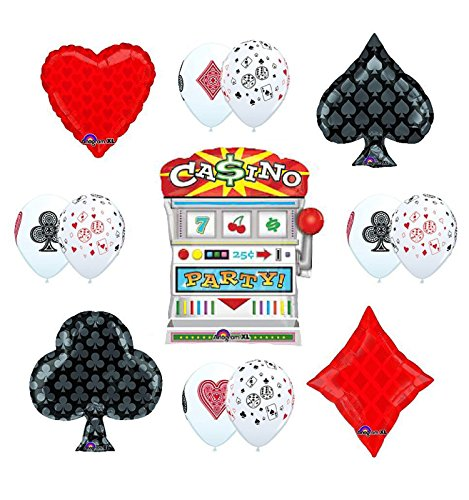 CASINO NIGHT Jackpot Slots Party Supplies