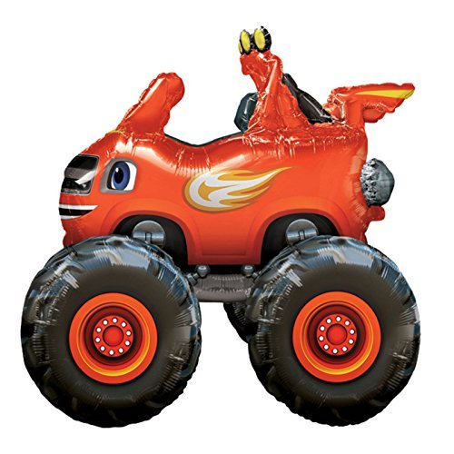 Blaze and the Monster Machines Kids Birthday Party Air Walker Balloon - Foil 37