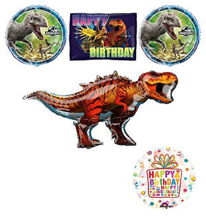 Jurassic World Dinosaur Birthday Party Supplies and Balloon Decorations