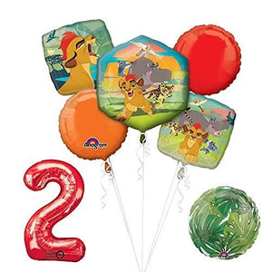 Lion Guard Lion King 2nd Birthday Party Balloon Decoration supplies