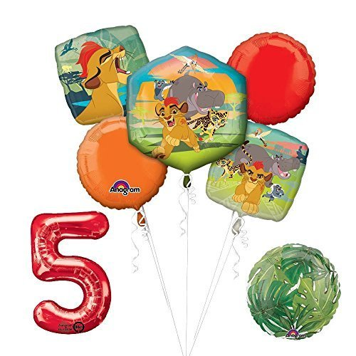 Lion Guard Lion King 5th Birthday Party Balloon Decoration supplies