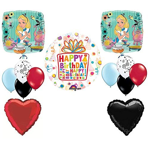 Alice In the Wonderland Birthday Tea Party Balloon Kit