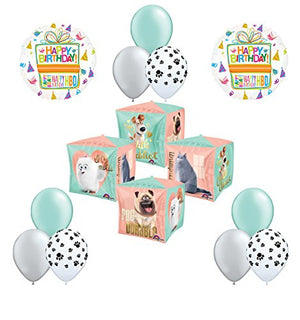 12pc The Secret Life of Pets Birthday Party Balloon Decorations
