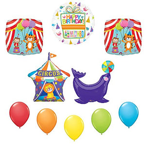 Circus Seal Birthday Party Supplies Decoration Balloon Kit