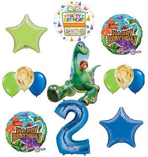 Arlo and Spot The Good Dinosaur 2nd Birthday Party Supplies and Balloon Decorations