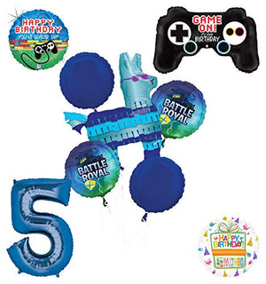 Mayflower Products Battle Royal 5th Birthday Party Supplies Balloons Bouquet Decorations