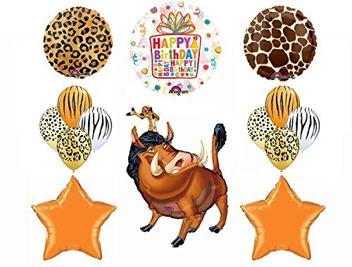 The Lion Guard Lion King Birthday Balloon Party Supplies Decorations