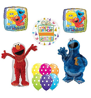 Sesame Street Elmo and Cookie Monster Party Supplies