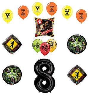 Mayflower Products Zombies Party Supplies 8th Birthday The Walking Dead Balloon Bouquet Decorations
