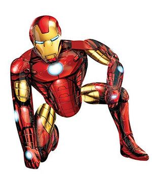 Anagram International Iron Man Air Walker, Multi-Color