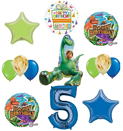 Arlo and Spot The Good Dinosaur 5th Birthday Party Supplies and Balloon Decorations