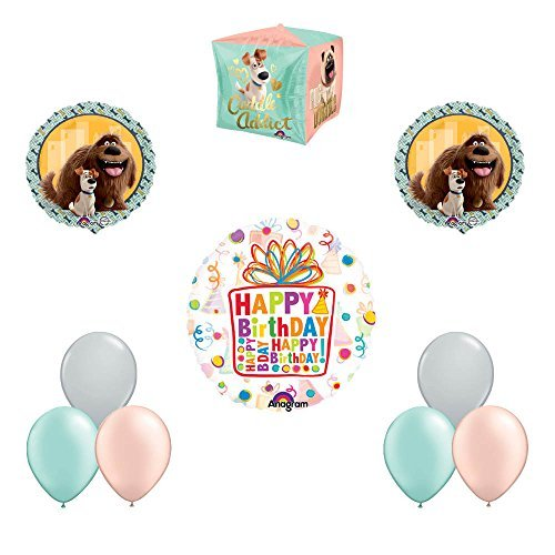The Secret Life of Pets 10pc Birthday Party Balloon Decorations