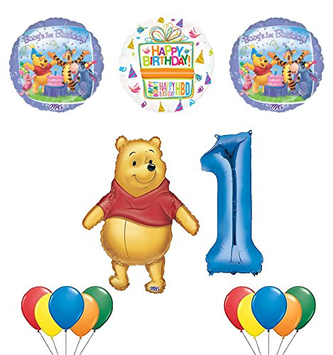 Winnie the Pooh and Friends 1st Birthday Party Supplies