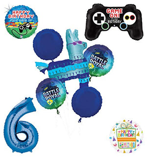 Mayflower Products Battle Royal 6th Birthday Party Supplies Balloons Bouquet Decorations