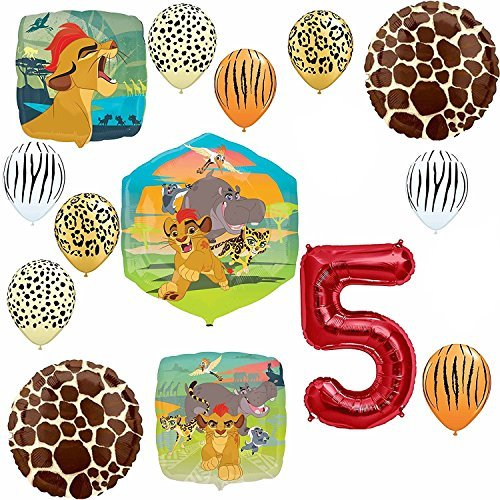 Lion Guard Safari 5th Birthday Party SuppliesBalloon Decoration Kit