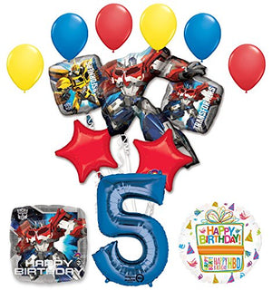 The Ultimate Transformers 5th Birthday Party Supplies and Balloon Decorations