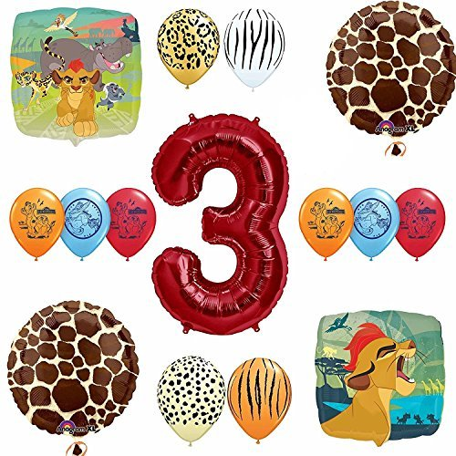 Lion Guard Safari 3rd Birthday Party SuppliesBalloon Decoration Kit
