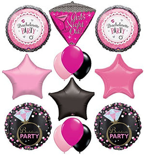 "Bachelorette Party Supplies and Balloon Decorations ""Girls Night Out!"""