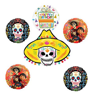 Coco Party Supplies Birthday Balloon Bouquet Decorations
