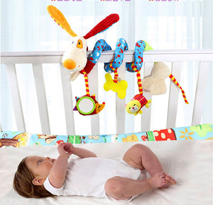 Colorful, Plush Wrap-Around Toy - Smart Cute Babies