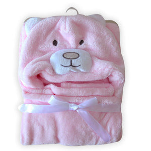 Cute Character Baby Bathrobe / Towel - Smart Cute Babies