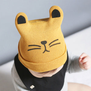 Adorable Kitty Beanie Caps - Smart Cute Babies