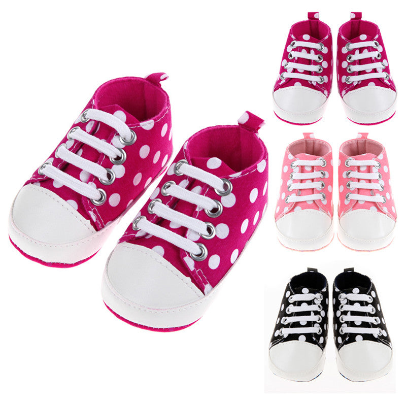 Dotted Baby Shoes - Smart Cute Babies