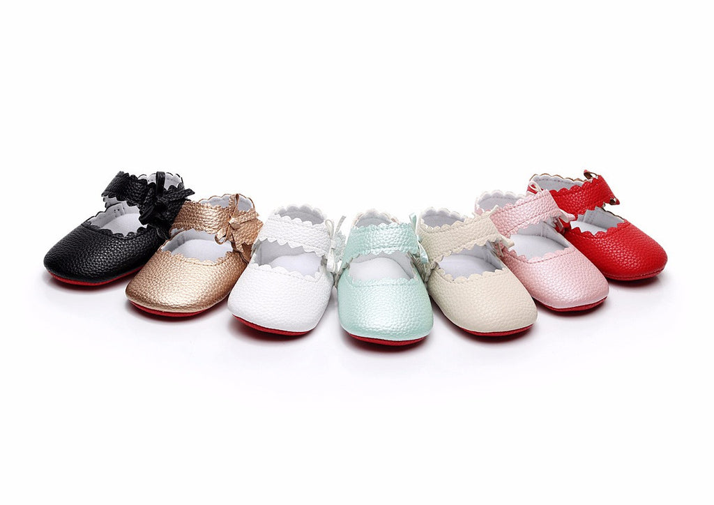 Soft Sole Red Bottom Baby Shoes - Smart Cute Babies