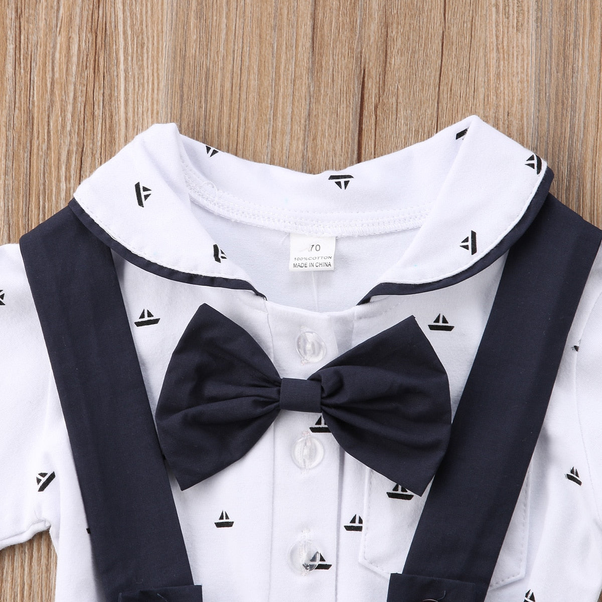 2 Pc Baby Boy Gentleman Outfit - Smart Cute Babies