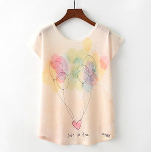 Balloons Woman T Shirt